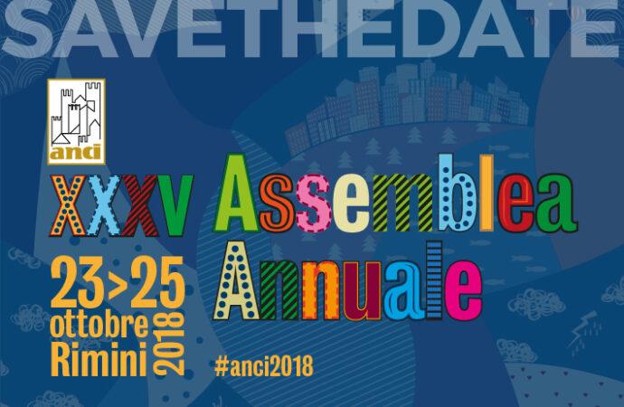 Dal 23 al 25 ottobre a Rimini la XXXV assemblea nazionale Anci