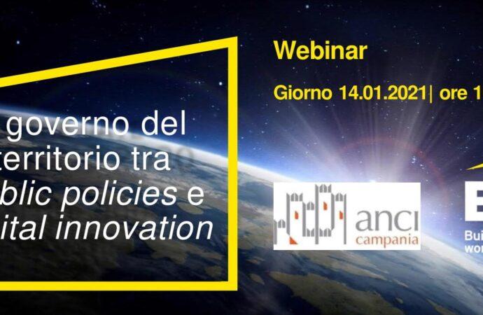 Anci Campania ed Ernst & Young: webinar su Fondi Ue, Piano Sud e Digitale </br>Giovedì 14 gennaio 2021